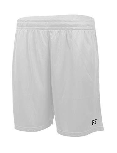 FZ Forza - Kurze Sport Hose/Short Landers - weiß, für Damen & Herren - geeignet für Fitness, Running, Fußball, Squash, Badminton, Tennis etc. - M