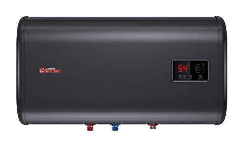 Thermex ID 50 H Smart Boiler aus Edelstahl, Elektrospeicher flach, 230 V, Schwarz