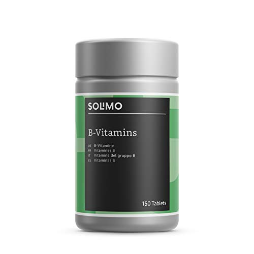 Amazon Brand - Solimo B-Vitamins and Minerals Food Supplement, 150 Tablets