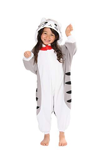 Tabby Cat Kids Kigurumi Onesie (5-9 Years)