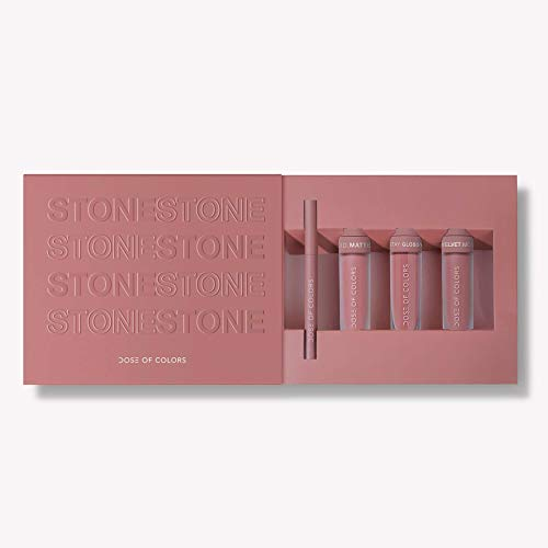 Dose of Colors Limited Edition Stone Lip Set