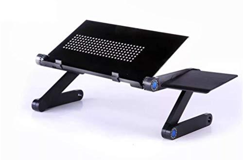 Laptop Tafel, Draagbare Verstelbare Ergonomische Computer Notebook Bureau Met Mouse Board En Koeling Fan, Stand Ontbijt Bed Lade Boekhouder Super Kopen (Met Mouse Board)