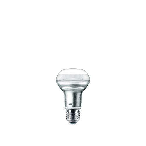 Philips LED-Leuchtmittel, entspricht 40 W, R63, E27, Warmweiß, nicht dimmbar, Glas