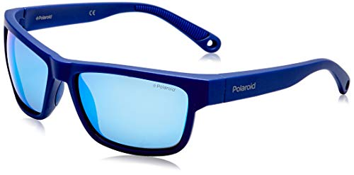 Polaroid PLD 7031/s Sunglasses, PJP/5X Blue, 59 Mens