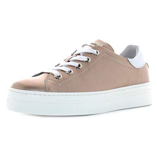 NERO GIARDINI scarpe donna sneakers con platform E010663D/671 taglia 40 Rosa antico