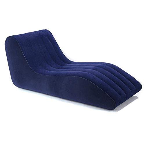WMY Tumbona Inflable, sofá de Aire Inflable para tumbonas, sofá de Aire Inflable para Patio, Sala de Estar, Exteriores y Otras Ocasiones