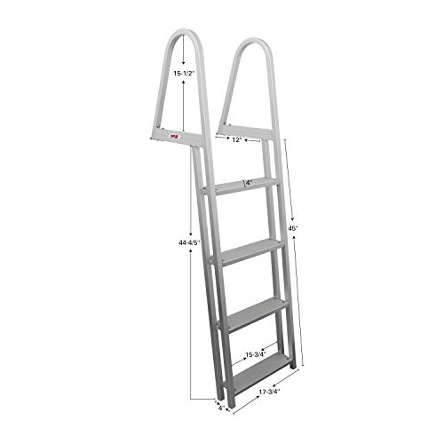 Extreme Max 3005.3380 4-Step Pontoon/Dock Ladder