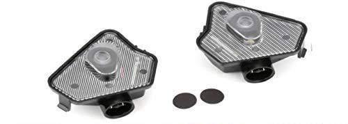 Sunshine Fly 2 Stücke LED Seite Unter Spiegel Projektor Geist Logo Willkommen Ambient Auto Lampe Ersatz Rücklicht Zubehör