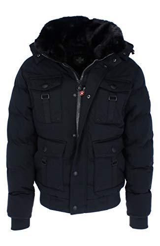 Wellensteyn - Leuchtfeuer Blouson LFEB-870 Herrenjacke, Größe:XXL, Farben:Black