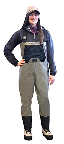 CADDIS CA9907W-S Women's Breathable Stockingfoot Chest Wader, Small