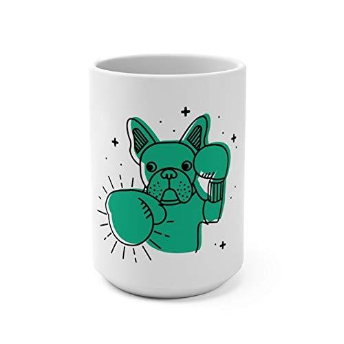 Frenchie Boxing Mug