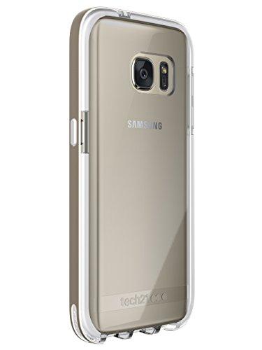 Tech 21 Evo Elite Hülle Widerstandsfähig Schlagfest mit FlexShock Aufprallschutz für Samsung Galaxy S7 - Gold