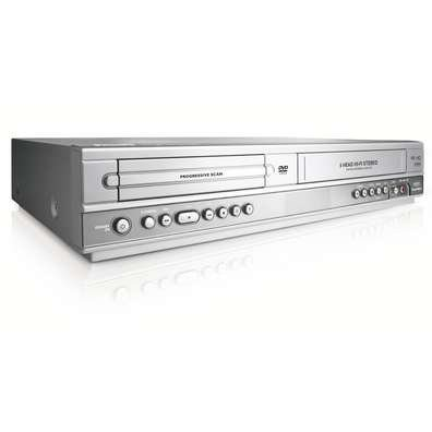 Philips dvp3100 DVD DVIX Player Combo VCR Player