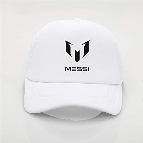 QOHNK Moda Unisex Adulto Gorra De Béisbol Barcelona Messi Imprimir Hombres Mujeres Gorras De Béisbol Sombreros Ajustables Hombre Sombrero De Mujer