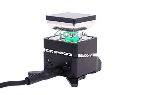 SainSmart MINIWARE MHP30 Mini Hot Plate Preheater Stazione di preriscaldamento Stazione di preriscaldamento Multi Intelligent Modes con Display OLED integrato 60W 30X30mm, con Alimentazione