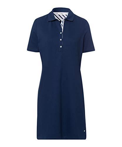 BRAX Gweneth piqué Casual Cotton Dress Vestito, Blu (Indigo 23), 40 (Taglia Unica: 34) Donna