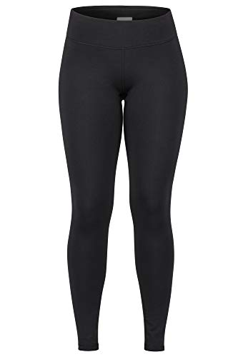 Marmot Wm's Everyday Tight Legging de Sport Femme, Pantalon de Yoga, Taille Haute, Idéal pour Courir, séchage Rapide, Respirant Femme Black FR: XL (Taille Fabricant: XL)
