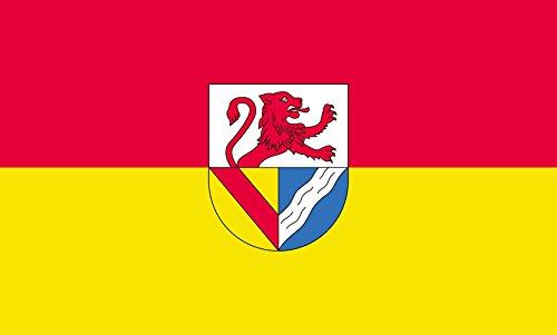 Unbekannt magFlags Tisch-Fahne/Tisch-Flagge: Lörrach (Kreis) 15x25cm inkl. Tisch-Ständer