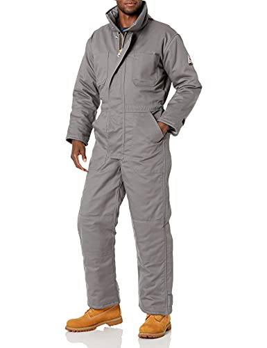 Bulwark FR Men's Excel FR ComforTouch Premium Insulated Coverall with Leg Tabs