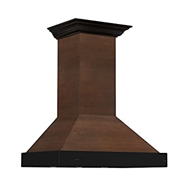 ZLINE Designer Series Wooden Wall Mount Range Hood (KBAR/RR Series)