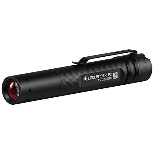 Led Lenser P2 - Linterna (Mano, AAA, Negro)