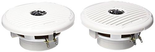 Jensen MSX65R 6.5  75W Coaxial Speakers, Silver White