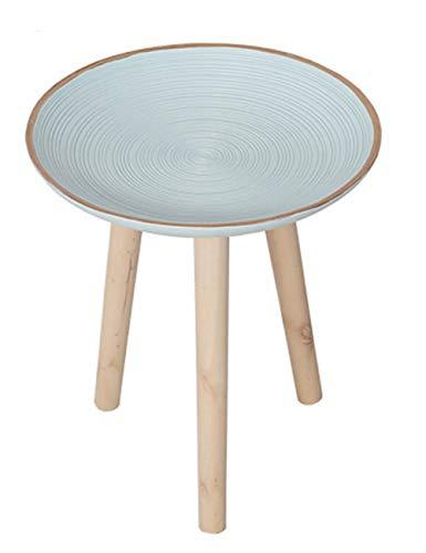 Petite Table géométrique/Table Basse/Table d'appoint de Plateau de Design, Meubles de décoration de Bureau à la Maison de Salon, Support en pin, Multi-Taille en Option