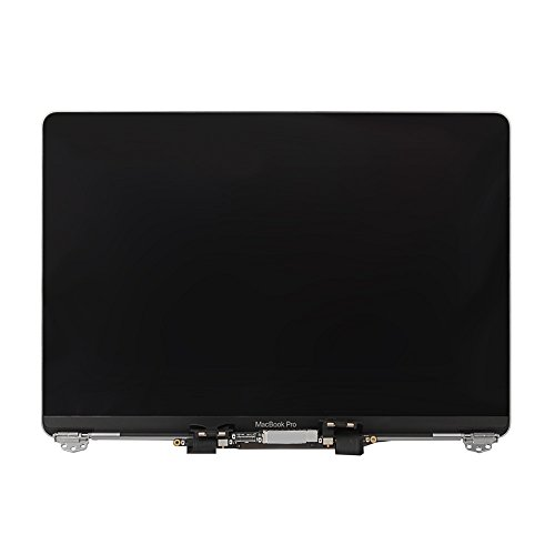LCD Display Screen Full Assembly Replacement for Apple MacBook Pro 13' A1706 A1708 Late 2016 Mid 2017 661-05095 Space Gray