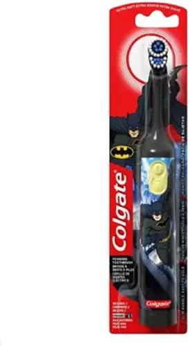 Colgate battery powered batman toothbrush - kids battery toothbrush Electric Toothbrush (Black)