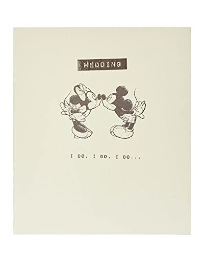 Wedding Card - Wedding Day Card - Mickey & Minnie Wedding Card - Disney Wedding Card - Wedding Gift, 429936-0-1