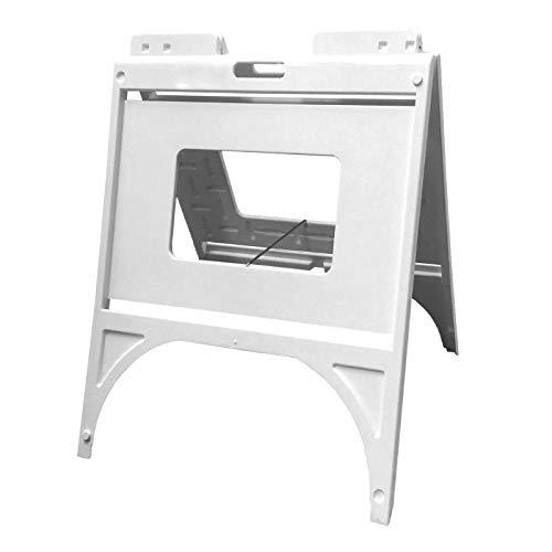 Plasticade Quik Sign Frame, A-Frame Sidewalk Frame, Holds 18 inch x 24 inch Sign Panels