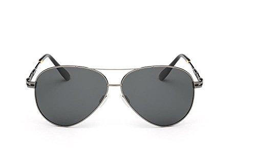 CMCL Caminante Gafas De Sol Polarizadas Clásicas Gafas De Sol De Moda De Los Hombres, Gray Capullos
