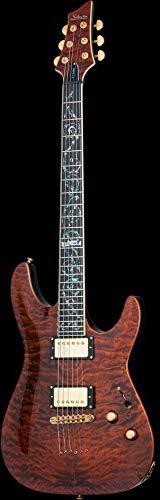 SCHECTER SC240 E-Gitarre, Retro C-1 Classic, Antique Amber