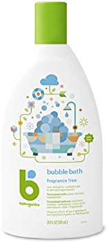 BabyGanics Bubble Bath Fragrance Free, 20 Ounce