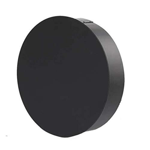 Ø 120 mm - Ofenrohr Blindkappe Schwarz