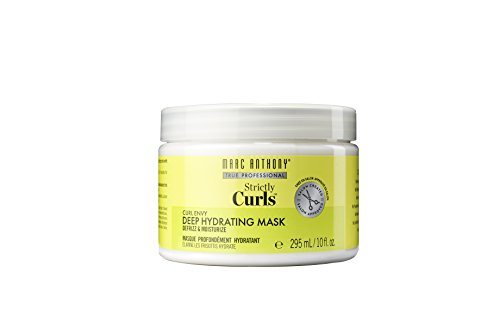 Marc Anthony Shea Butter Hydrating Deep Conditioner Curly Hair Mask – Vitamin E & Avocado Oil Hair Mask – Anti Frizz, Curl Defining & Moisturizing Curly Hair Mask - For Dry Damaged, Wavy & Curly Hair