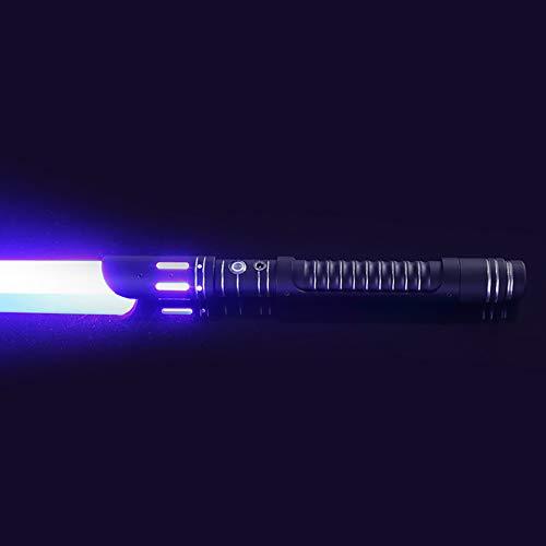 Star Wars Lightsaber Espada Láser De Metal The Black Series Kit Fisto Force FX Lightsaber Movie Replica Prop Juguete De Cumpleaños Regalo para Niños Estudiantes Adultos,Red Light