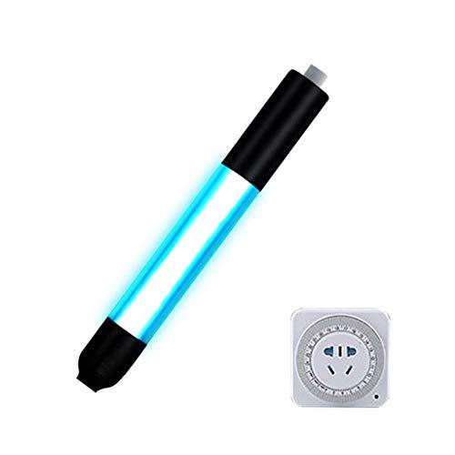 MY1MEY Sterilisationslampe Keimtötende Lampe Aquarium UV-Desinfektion Quarzglas Sterilisator Fischbecken Algen Unterwasserblüte Sauberes Licht Algengrün Klar Klar Wasserdicht