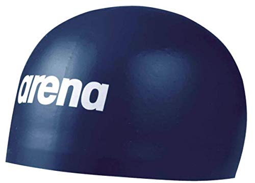 Arena 3D Soft Cap Swim Cap, Navy, Large