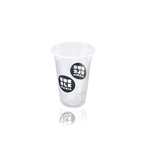 Bubble tea Becher   plastic cup 0,5l (100 stück)