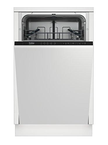 BEKO Sage vollständig integriertes 1601010places A + Spülmaschine–Geschirrspülmaschinen (komplett integriert, schwarz / Schonwaschgang, intensive)