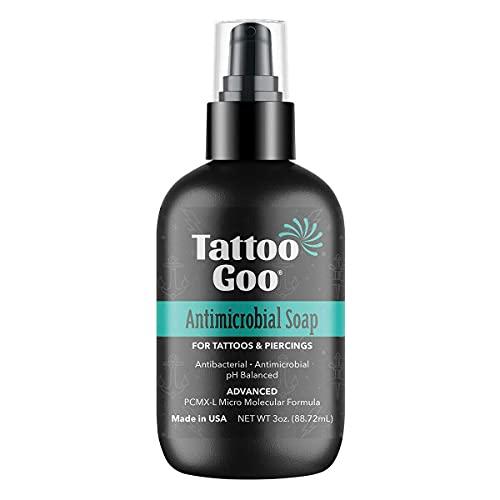 Tattoo Goo Deep Cleansing Soap Piercing Aftercare 3oz Foam New formula