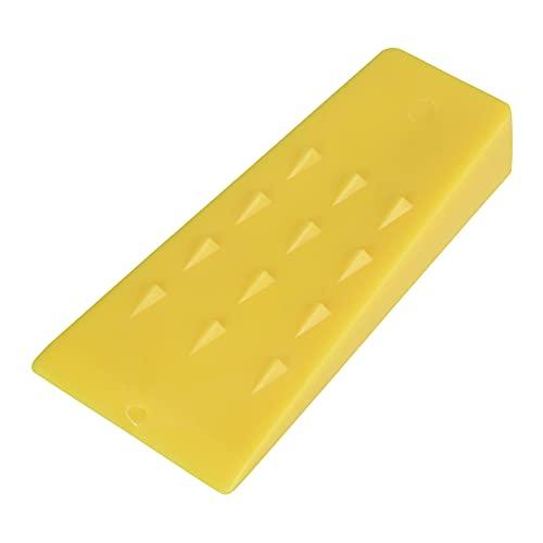 3 x gelbe Kunststoff-Fällkeile für Baumfälle, Spaltkeile für Holzfälle, Fällen, Schneiden, Spalten, Kettensägen (12,7 cm)