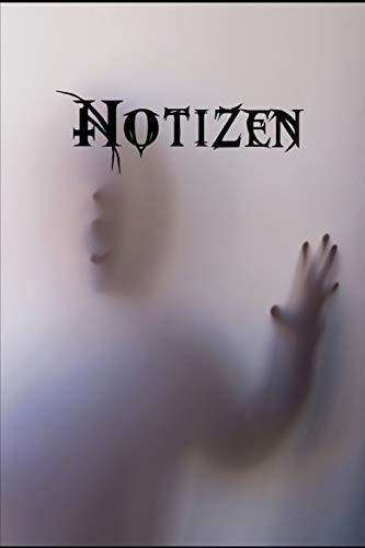 Notizen: Din A5 - Linierte 120 Seiten - Kalender - Taschenbuch - Notizblock - Block - Terminkalender - Geschenkidee - Gothic - Schatten - Weiß - ... - Romantik - Novel - Mystery - Tagebuch
