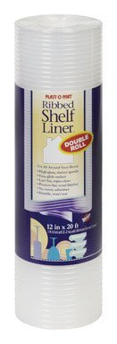 Warp Brothers 12x25 WHT Shelf Liner PM125-W