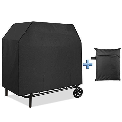 EEEKit 58-Zoll-BBQ-Gasgrill-Abdeckung Staubdicht wasserdichte Barbecue-Abdeckung für den Außenbereich, UV-beständig, Sonnenschutz, langlebig und praktisch, passend für Family Grill Party