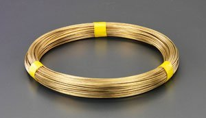 2.0mmx 36m /#14 真鍮線(1kg) EA951AE-2