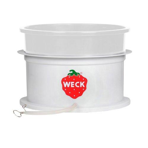 Weck Entsafteraufsatz / Dampfentsafter - Aufsatz für Einkochtopf