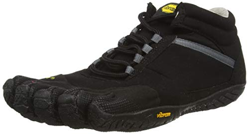 Vibram FiveFingers 15M5302 TREK Ascent Insulated, Outdoor Fitnessschuhe Herren, Black, 43 EU