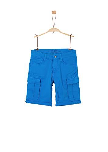 s.Oliver Junior 402.10.004.18.180.2037890 Cargos, Jungen, Blau 134 REG